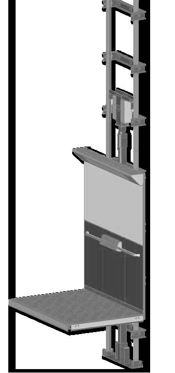 Aufzug für Personen mit Behinderung